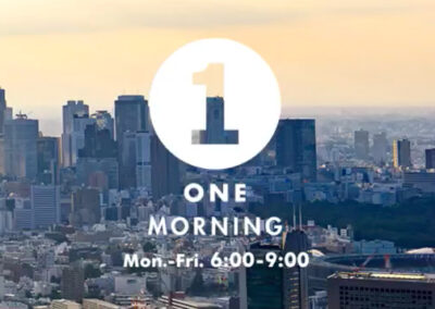 【ラジオ放送】2021年6月1日 TokyoFM「ONE MORMING」にて放送されました